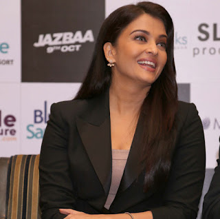 Aishwarya Rai in black Formals at Longines DolceVita Collection Launch event Promoting Jazbaa