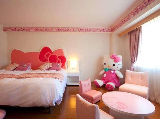 Kamar Tidur Hello Kitty Untuk Anak Anda | Gambar Rumah Minimalis