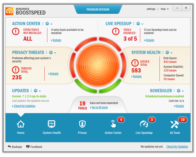 Auslogics BoostSpeed Premium 7.5 Full Keygen