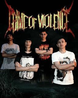 Crime Of Violence Band Metalcore Jakarta Foto Logo Wallpaper