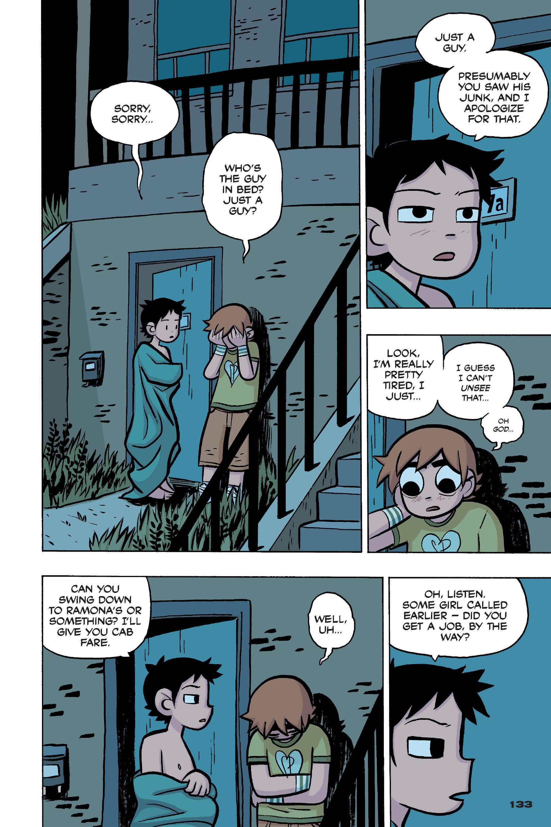 Read online Scott Pilgrim comic -  Issue #4 - 130