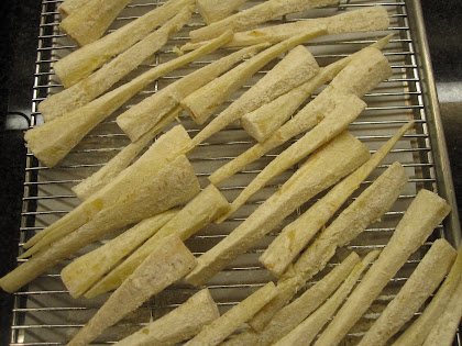 PARMESAN CRUSTED PARSNIPS