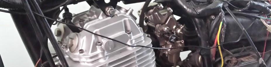 Reformando uma Yamaha XT 600 E 3TB de 1995