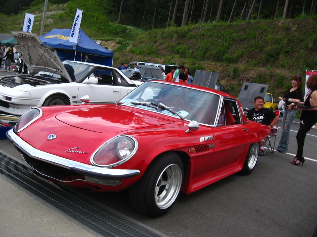 Mazda Cosmo Sport, auto z duszą, japoński sportowy samochód, klasyczny, oldschool, galeria