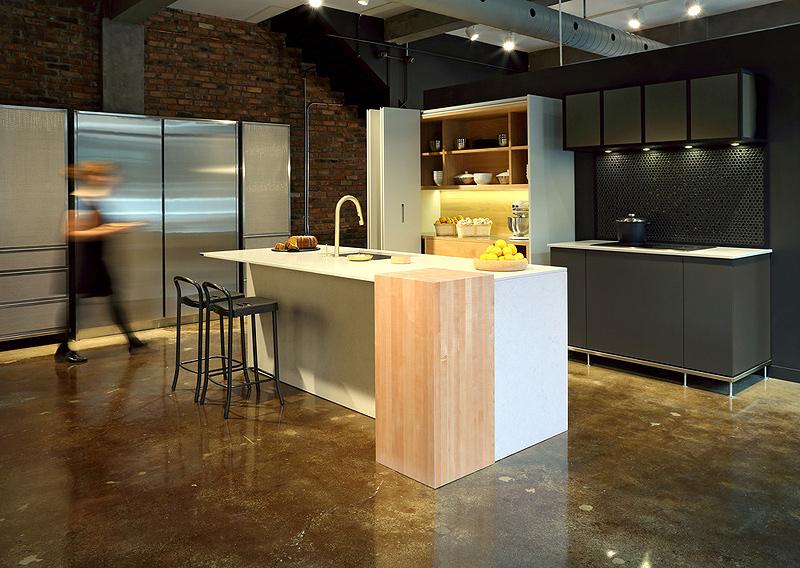 Diseño muebles de cocina: diseño de cocina con suave caracter ...