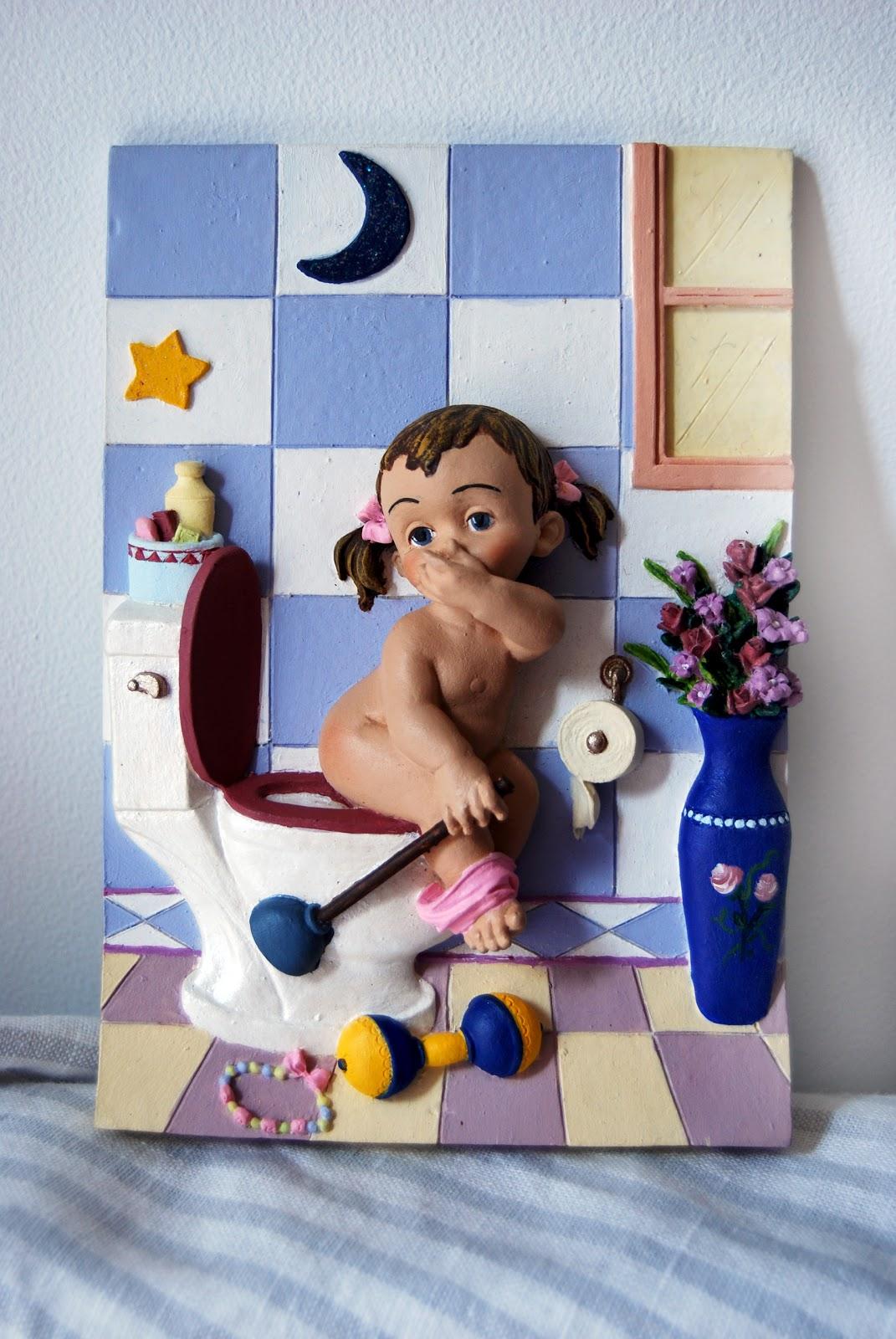 En el taller de maribel cuadros para cuartos de ba o - Cuadros para decorar el bano ...