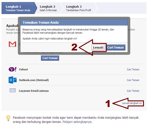 Langkah 2 Cara Membuat FB