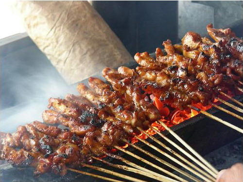 Colorful Indonesia: The Soft and Tender Grilled of Satay