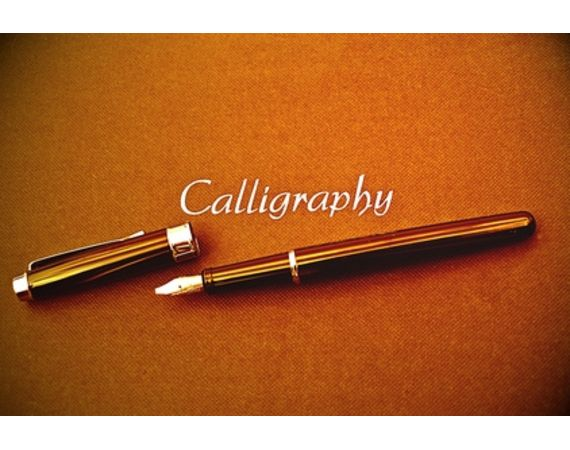 Calligraphy how to hold pen