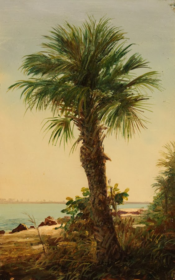 Erik koeppel affordable art fair new york city with rehs for Palm tree painting