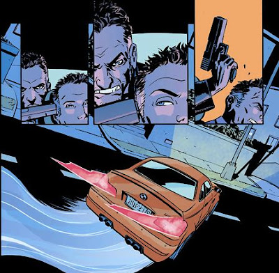Human Target interior illustrations by Cliff Chiang - 365 Days of Comics