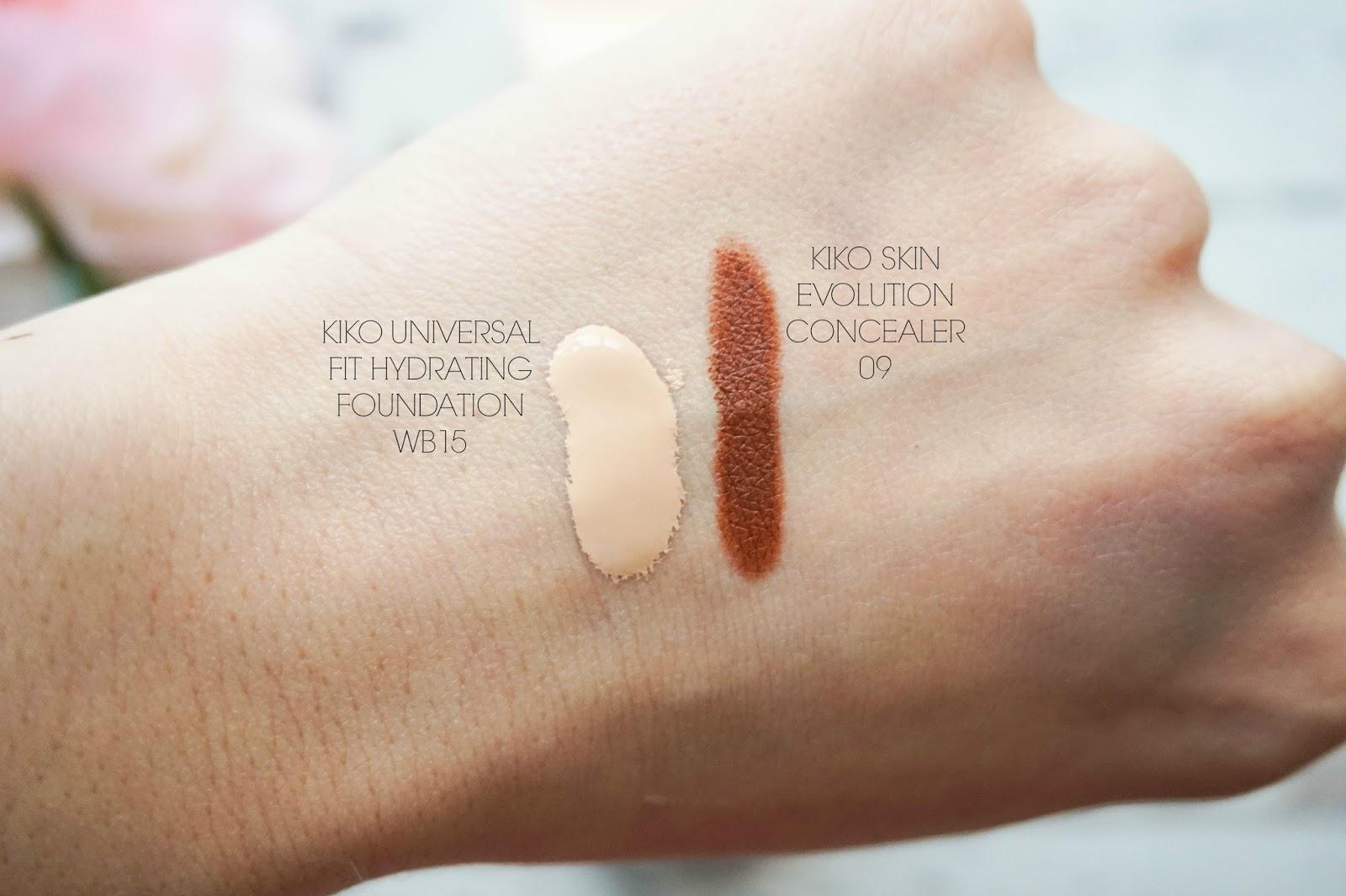 KIKO Universal Fit Hydration Concealer, Skin Evolution Concealer