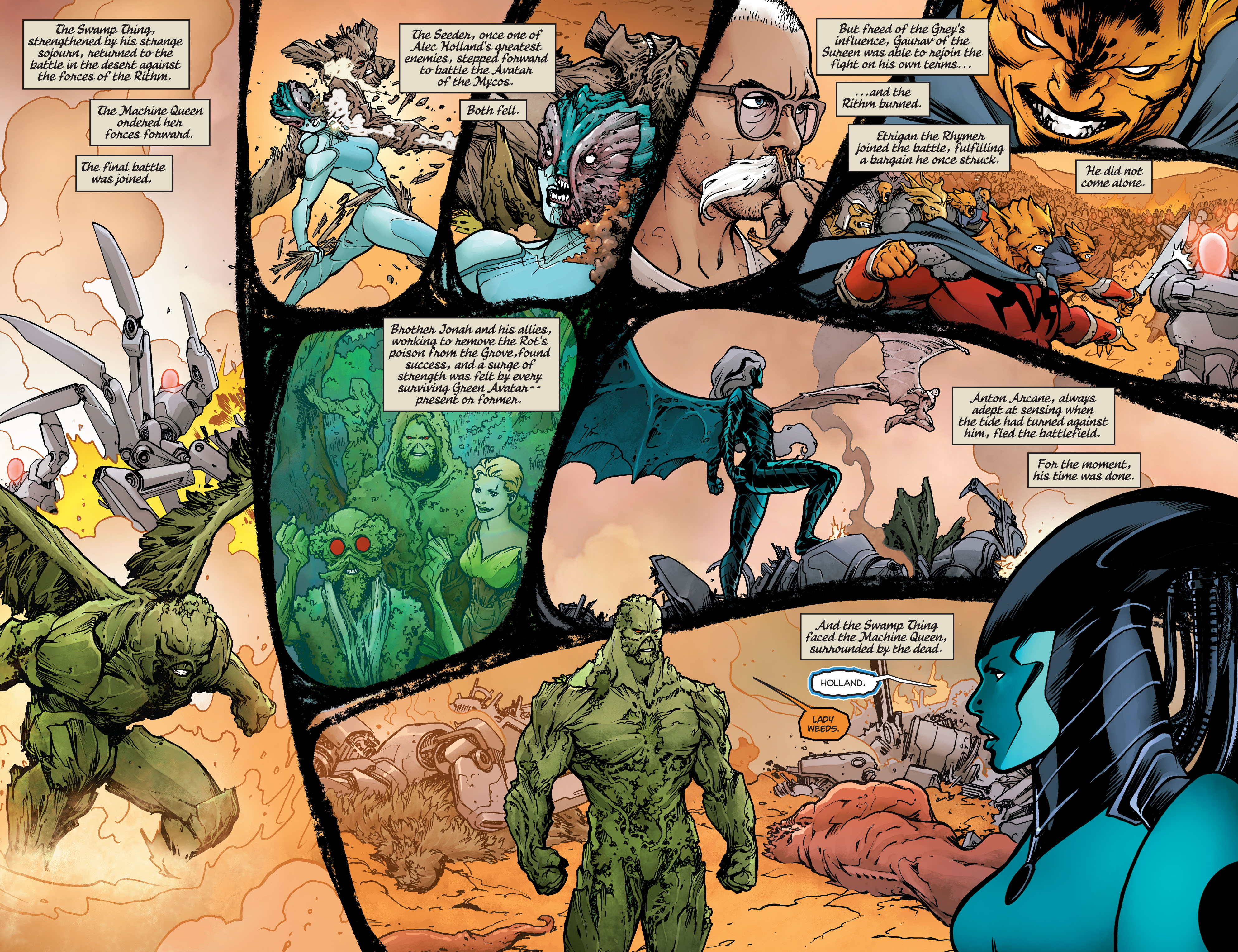 Swamp Thing (2011) Issue #40 #45 - English 21