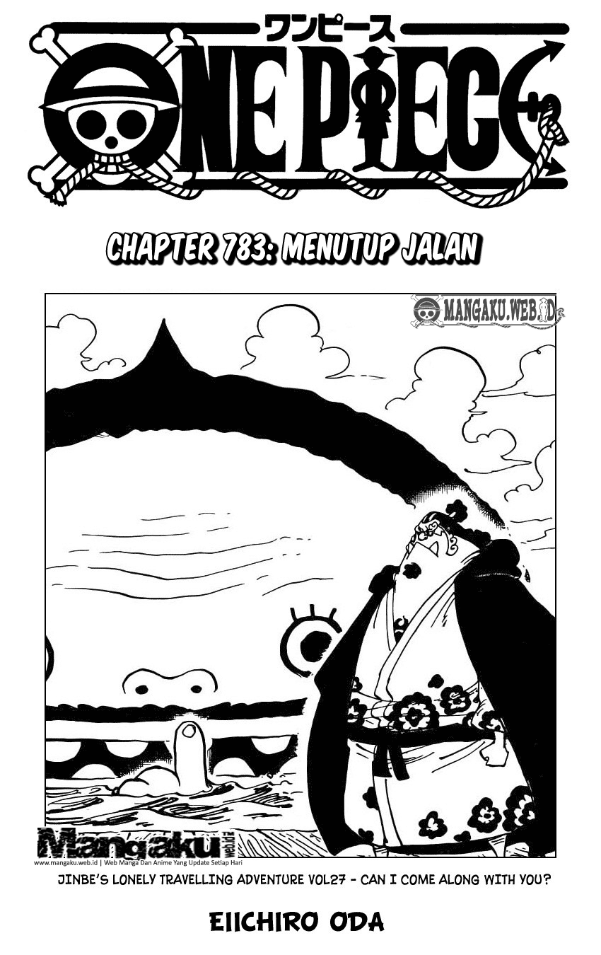 Cover One Piece 783