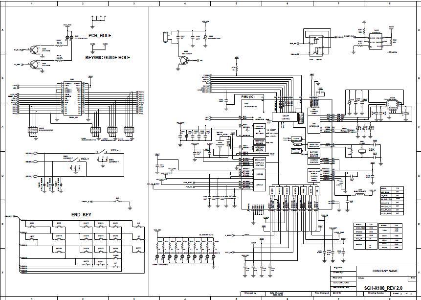 Samsung Sgh X100 Schematic Diagram