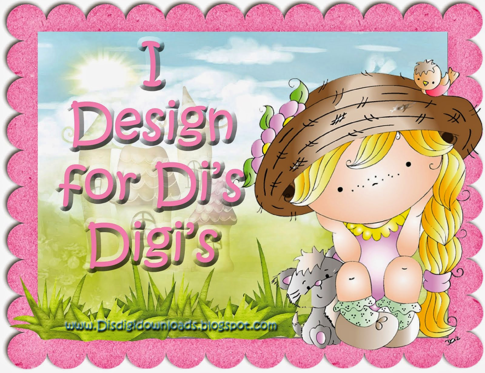 Art Designer for Di's Digi Stamps