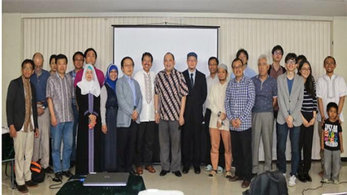 Muslim Indonesia di Jepang Kenalkan Islam