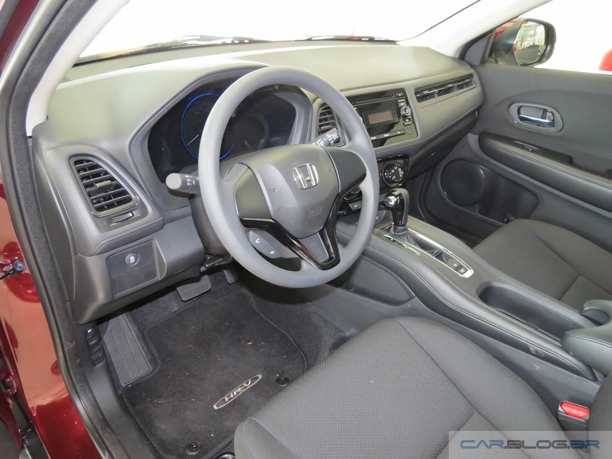 Honda HR-V LX CVT - interior - espaço dianteiro