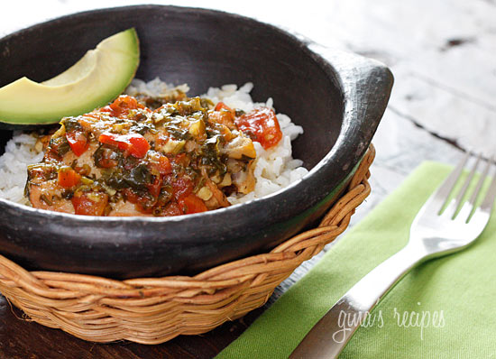 Sofrito Chicken Stew –on of my favorite comfort food dishes I make all the time!