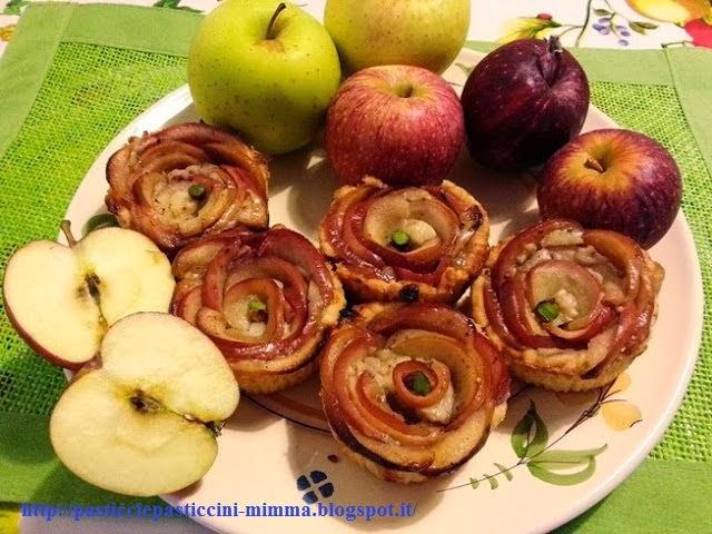 le tortine delle fate e degli elfi...... al profumo di mela