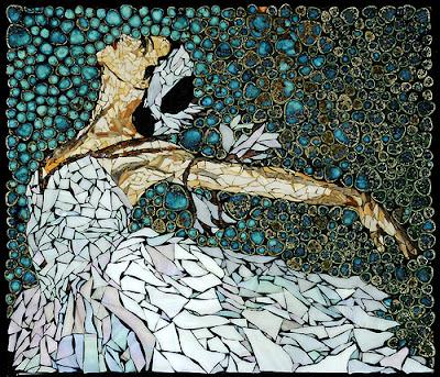 Swan Lake Mosaic Ballerina