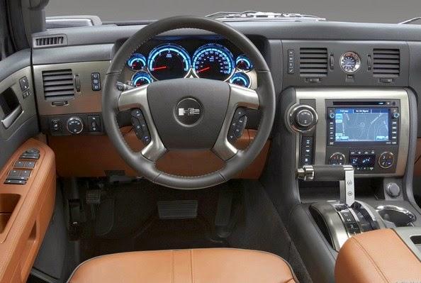 2015 Hummer H3 Interior