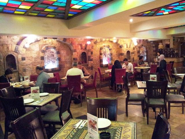 Tarbush Restaurant, Jalan Bukit Bintang