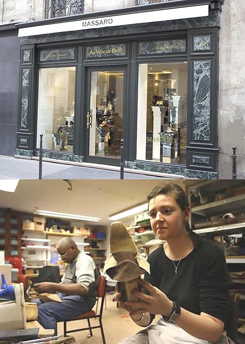 Sepatu Coco Chanel The Two Tone dibuat Massaro