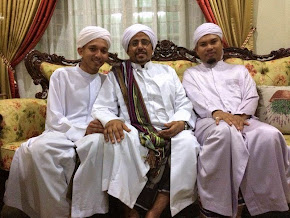 Habib Hassan Al Hamid bersama MUAS
