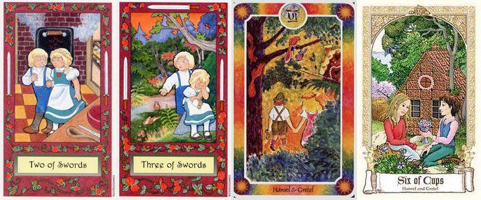 Fairytale Tarot Baba studio Magic Realist Press Whimsical Tarot Inner Child Fairy Tale Folklore ไพ่ยิปซี ไพ่ทาโร่ เทพนิยาย นิทานปรัมปรา นิทานนานาชาติ ไพ่ทาโรต์