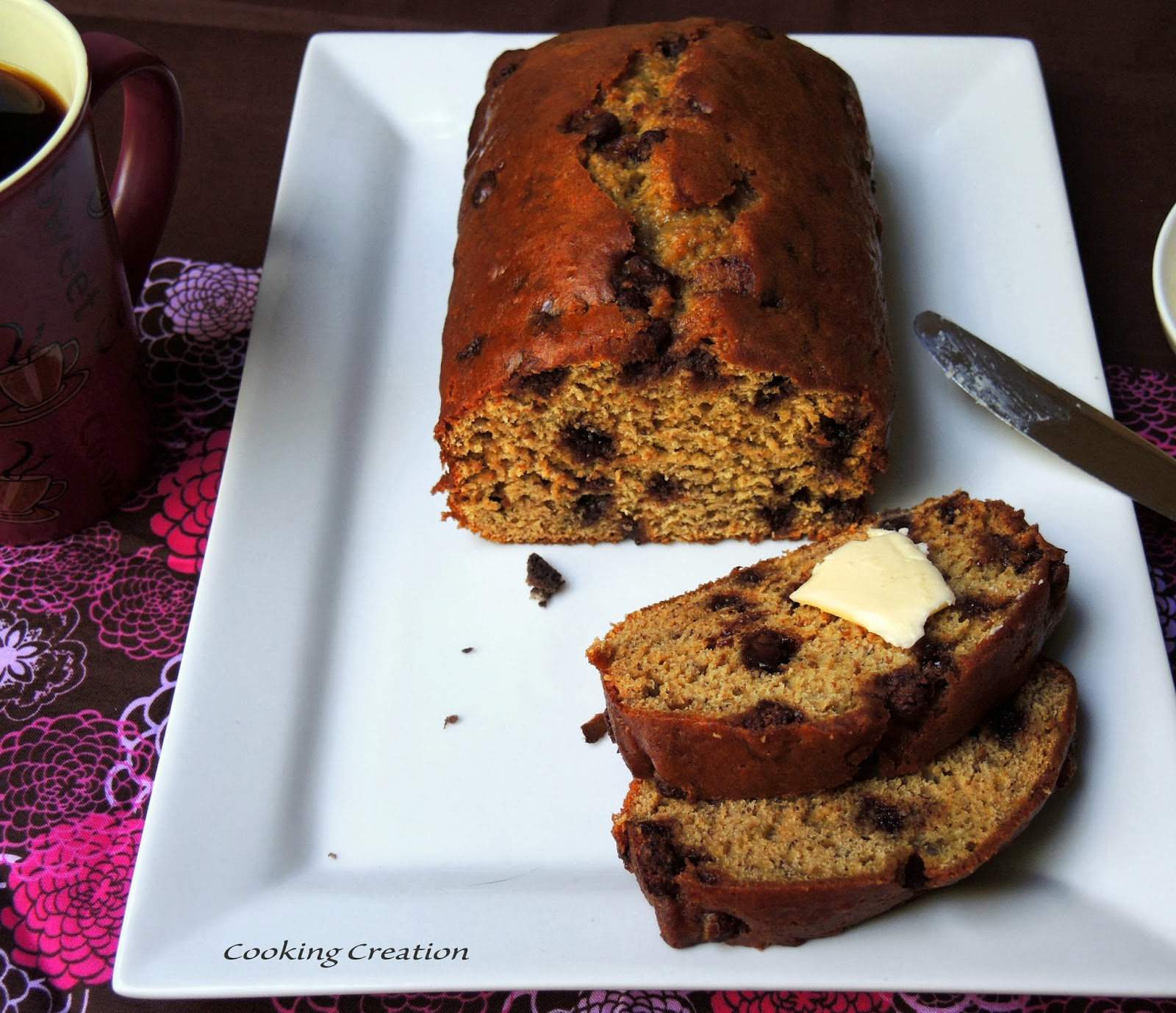 Chocolate Chip And Sour Cream Banana Bread Recipes — Dishmaps