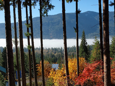 Mist Over Lake Wenatchee