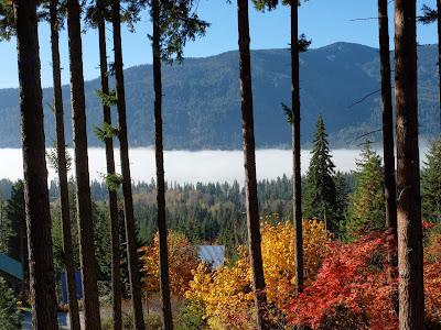 Mist Over Lake Wenatchee