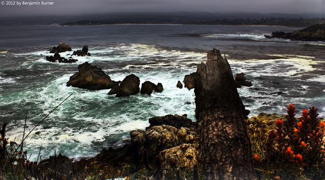 Waves at Point Lobos State Park