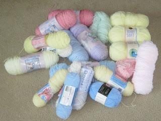donated yarn