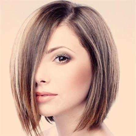 Rough medium length hairstyle made easily | StylesNew