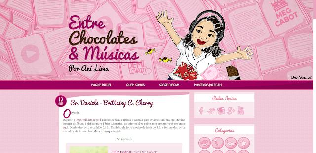 Entre Chocolates e Músicas