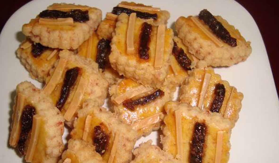 Resep Kornet Beef Cookies dan Resep Cornet Cookies
