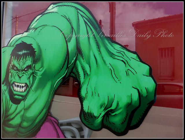 Parenthèses.fr Versailles Incredible Hulk