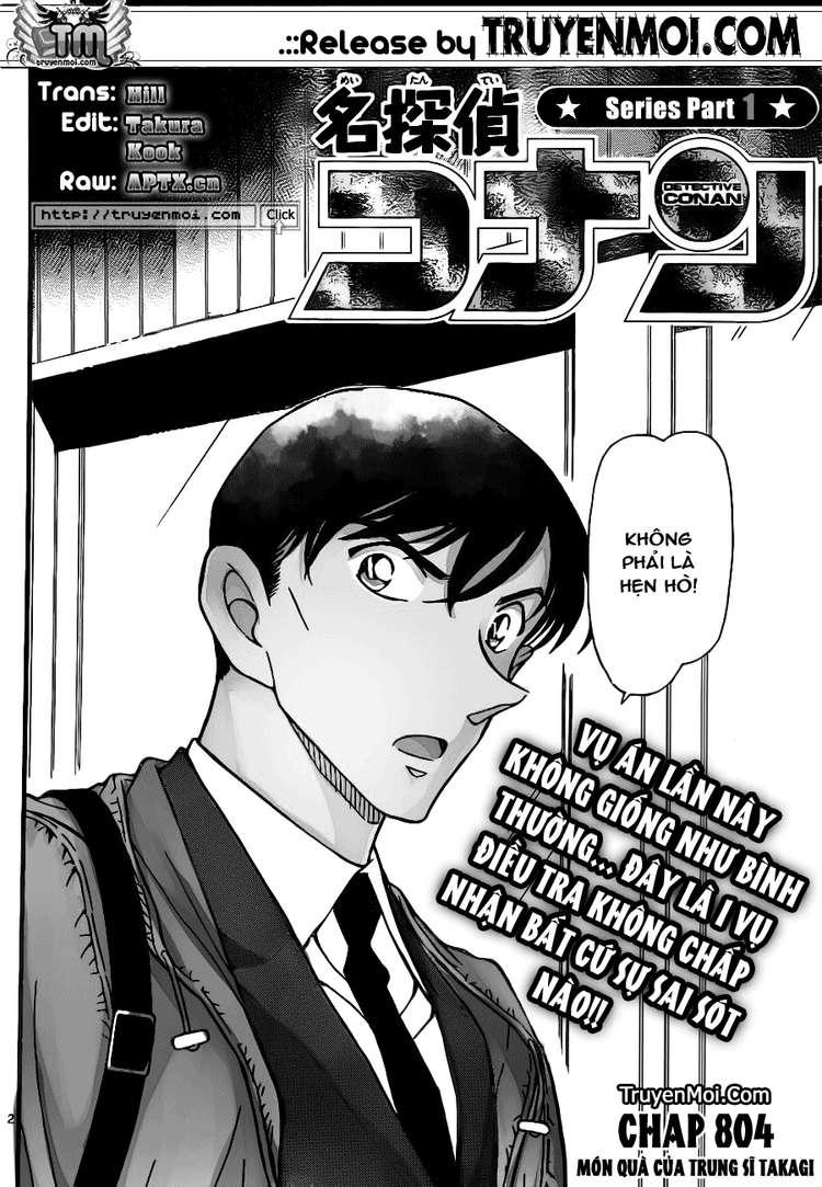 Detective Conan - Thám Tử Lừng Danh Conan chap 804 page 2 - IZTruyenTranh.com