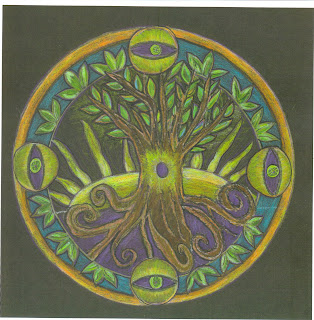 """Growing Roots,"" mandala design by Janet Tam London"
