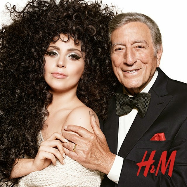 Lady Gaga and Tony Bennett Dazzle at The HM Holiday Campaign Shoot