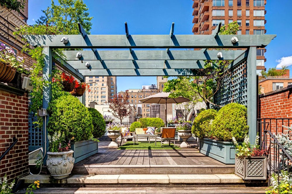 Un'oasi tra i tetti di Manhattan