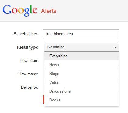 Google-Alerts-Result-type