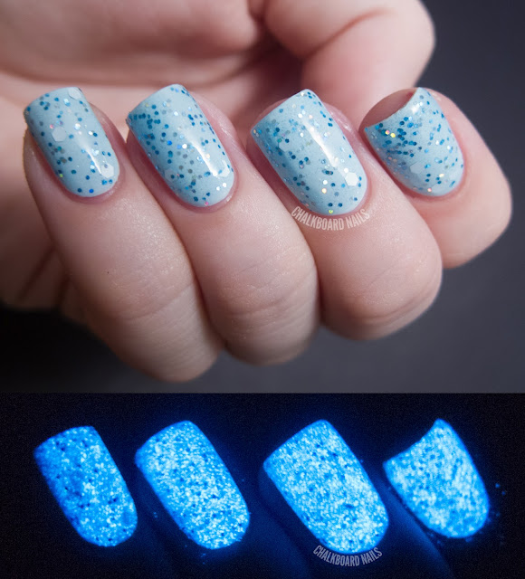the true meaning behind layer of blue nail polish