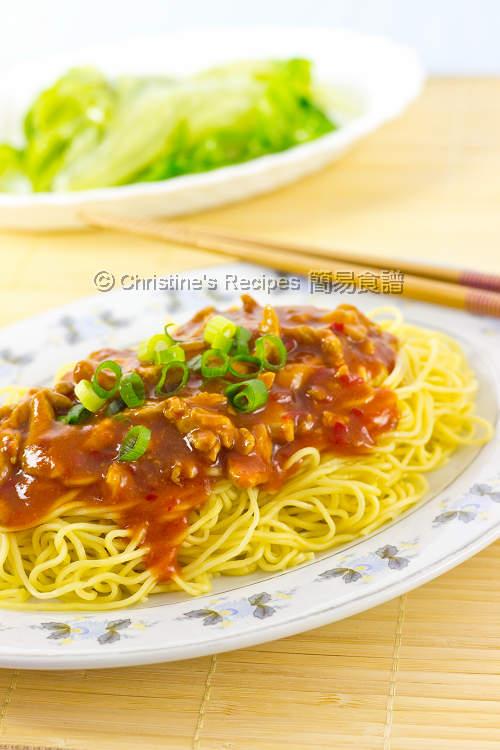 港式炸醬麵 Hong Kong Zha Jiang Noodles01