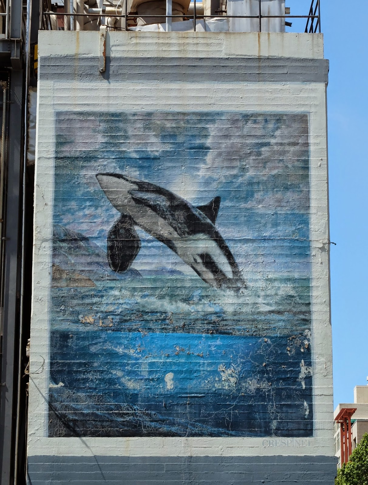 travelmarx seattle murals street art seattle steam plant mural orca