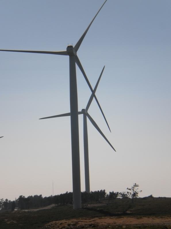 Duas Torres eólicas