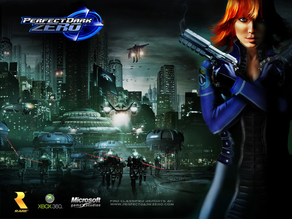 perfect dark zero xbox game wallpapers - Perfect Dark Zero Wallpapers Xbox 360 SuperCheats