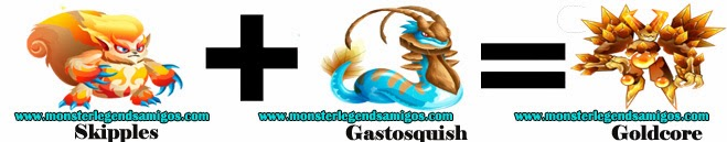 como obtener el monster goldcore en monster legends formula 3